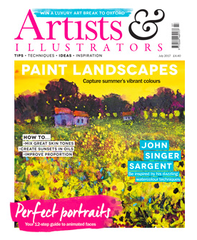 Workshops featured in Artists and Illustrators Magazine