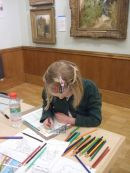 Workshops in Museums and Galleries responding to art collections.