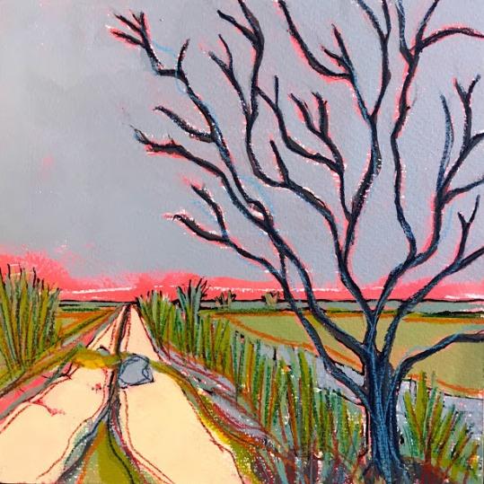Thurlton Marsh Willow 25x25