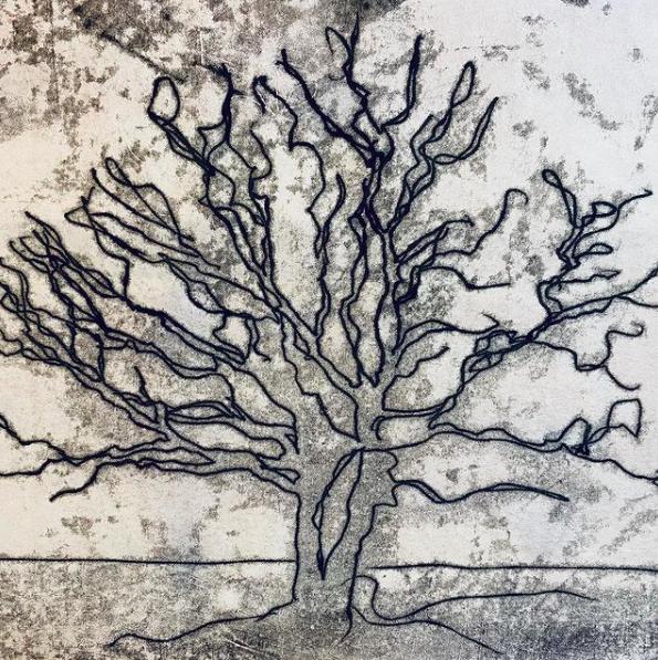 Monodrawing Oak